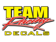 TEAM RACING DECALS